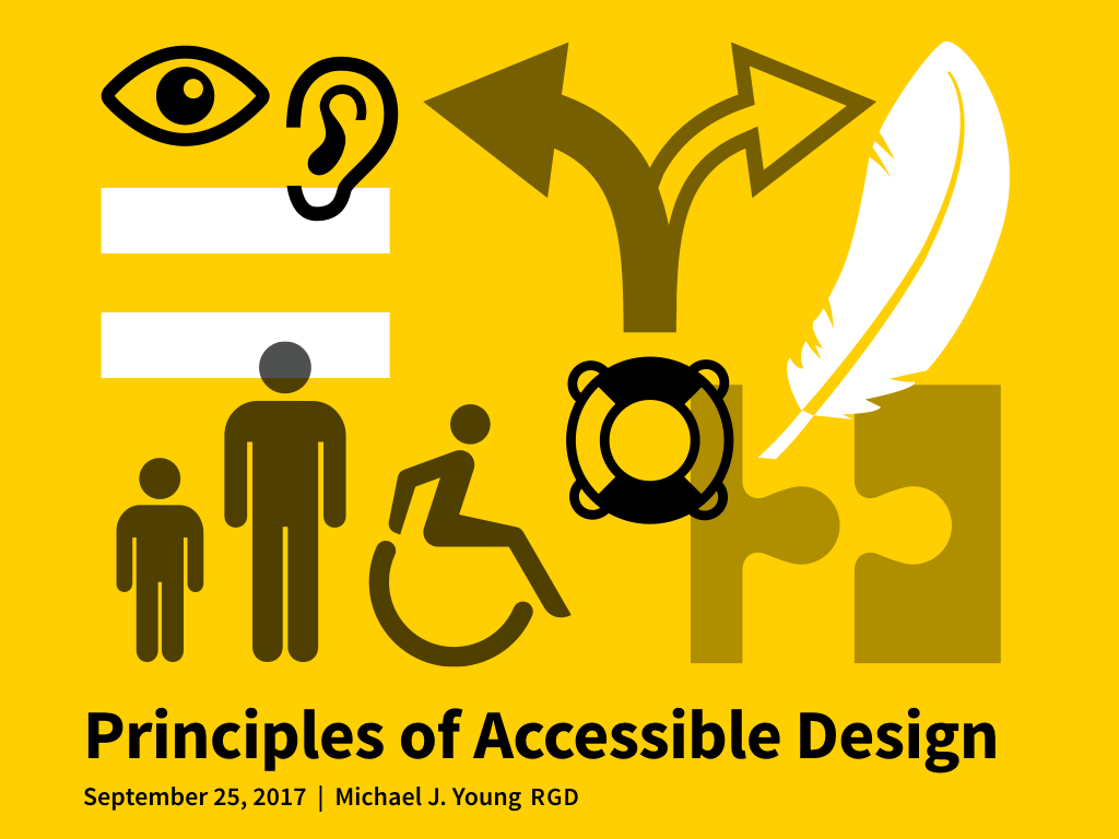 Principles of Accessible Design